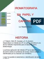 Cromatografia en Papel y Cf (1)