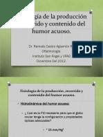 5.5 Fisiología de La Producción, Recorrido y Contenido Del Humor Acuoso