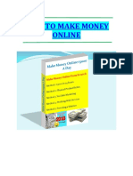 How to Make Money Online eBook