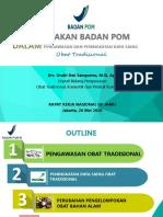 Presentasi BPOM - Rakernas GP Jamu