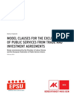Study M Krajewski_Model Clauses for the Exclusion of Public Services_2016