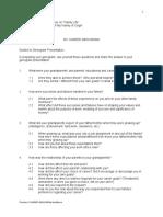Genogram (Guide Questions)