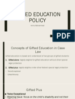1st presentstion-gifted education law