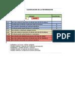 Evidencia 2 Clasificación de información  .xlsx