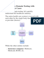 HealthCare Domain Testing with Sample Test Cases.docx