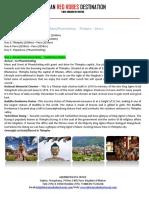 4N 5D Glimpses of Bhutan Tour Itinerary Bangladesh