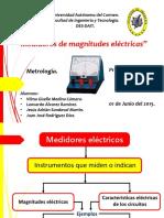 Medidores de Magnitudes Eléctricas
