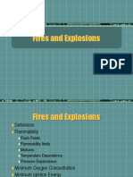 10A Fire and Explosion Flammability