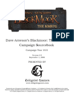 Blackmoor the MMRPG Campaign Sourcebook