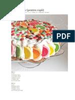 Tort Spirala Pt Copii