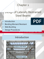 Design of Laterally Restrained Steel Beams
