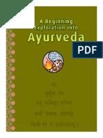 PranaMAMA a Beginning Exploration Into Ayurveda