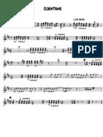 Cuentame - Trumpet 1 2 3