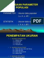 1 - Pendugaan Par Populasi