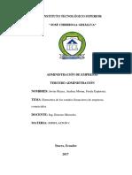 Estructura de Los Estados Financieros J.a.