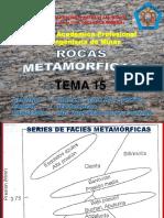 Petrologia - Rocas Metamorficas - Tema 15