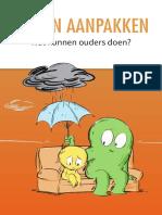 brochure pesten aanpakken wat kunnen ouders doen