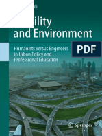 Mobility and Environment Humanists Versus Engineers in Urban Policy and Professional Education