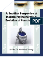 A Buddhist Perpsective of Modern Psychotherapy