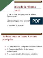 Antecedentes de La Reforma Constitucional