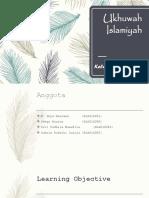 Ukhuwah Islamiyah PPT Agama