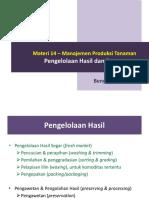 Materi 14 e28093 Manajemen Produksi Tanaman
