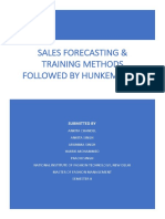 Sales Forecasting & Training