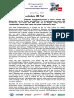 Eisspeedway Berlin 2018, Pressemitteilung 180301