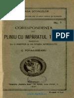 Scrisorile Lui Pliniu de G.popa Lisseanu