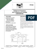 VFC32 - V to Hz & Hz to v Converter