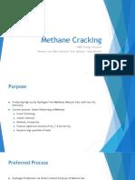 Methane Cracking Final Presentation Spring 2017 1