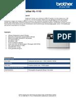 Productflyer Hl 1110 Fr PDF