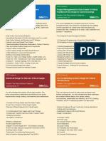 Critical Facilities Design Courses and Syllabus by Strategic Media Asia (SMA)