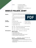 FOLAKE'S CV