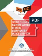 Panduan Pelaksanaan NSDC 2018