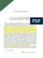 GARCIA MARSILLA, J.v., La Calle y El Espacio Publico Urbano en La Pintura Hispana, 161-201
