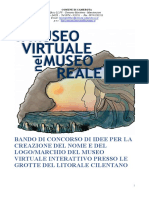 Bando Museo Virtuale