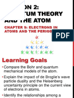 9.2 Quantum Theory and the Atom