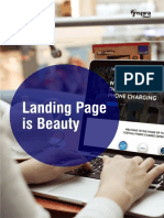 The Bauty of Landing Page