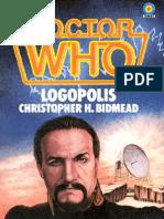 41 Dr Who - Logopolis (Christopher H Bidmead)