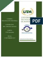 Organización Industrial Tarea