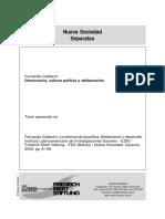 Democracia, cultura política y deliberación..pdf