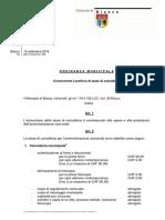 OM Concernente il prelievo di tasse di cancelleria + modifica