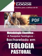 30 - BEL Teologia Pastoral Metodologia Científica