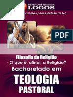 34 - BEL Teologia Pastoral Filosofia Da Religiao