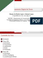 Slides ProjetoFiltros