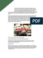 Postur Korupsi Di Indonesia