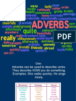 B1 GRAMMAR Adverbs Rules
