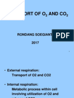 BIOKIMIA Transport of O2 and CO2, 2016
