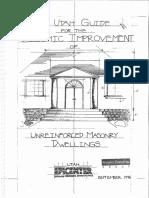 Utah URM Dwelling Improvements